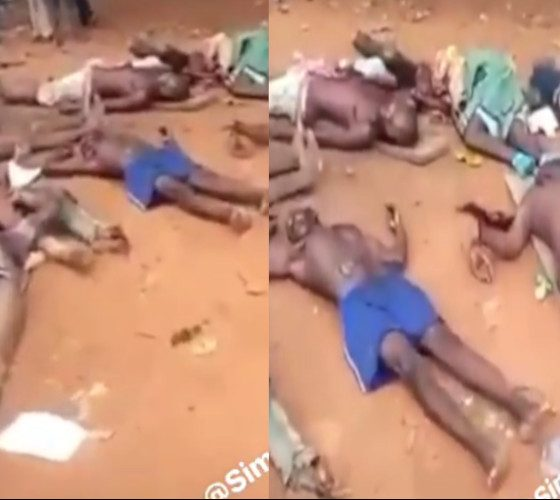 People slaughtered by Fulani Terrorists in Ebonyi State on 4th of june 2021